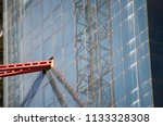construction and winch | Shutterstock . vector #1133328308