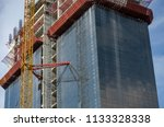 construction and winch | Shutterstock . vector #1133328338