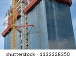 construction and winch | Shutterstock . vector #1133328350