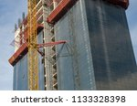 construction and winch | Shutterstock . vector #1133328398