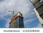 construction and winch | Shutterstock . vector #1133328440