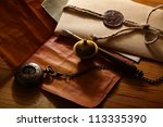 mail concept with many... | Shutterstock . vector #113335390