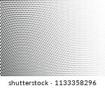 abstract halftone wave dotted...   Shutterstock .eps vector #1133358296