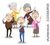 vector cartoon illustration of... | Shutterstock .eps vector #1133363933