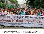 dhaka  bangladesh july 13  2018 ...   Shutterstock . vector #1133378210