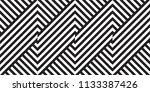 seamless geometric pattern with ... | Shutterstock .eps vector #1133387426