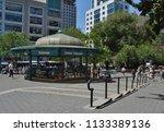 new york city  ny  usa  7 8 18  ... | Shutterstock . vector #1133389136