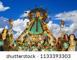 image of the virgin of the... | Shutterstock . vector #1133393303