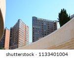 city views  facades in valencia ... | Shutterstock . vector #1133401004