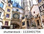 rouen france   5 june 2018  ... | Shutterstock . vector #1133401754