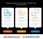 business infographic template... | Shutterstock .eps vector #1133403104