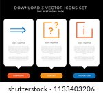 business infographic template... | Shutterstock .eps vector #1133403206