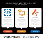 business infographic template...   Shutterstock .eps vector #1133407199