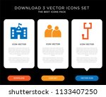 business infographic template... | Shutterstock .eps vector #1133407250