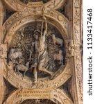 magnificent sculptural bas... | Shutterstock . vector #1133417468