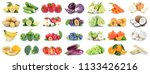 fruits and vegetables... | Shutterstock . vector #1133426216