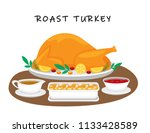 illustration vector flat... | Shutterstock .eps vector #1133428589