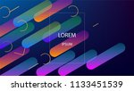 colorful background with simple ...   Shutterstock .eps vector #1133451539