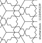 seamless geometric pattern with ...   Shutterstock .eps vector #1133454239