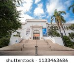 san diego  jun 27  exterior... | Shutterstock . vector #1133463686