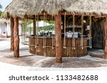 cancun  mexico   july 13  2018  ...   Shutterstock . vector #1133482688