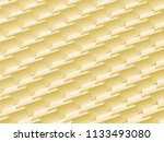 3d rendering abstract yellow... | Shutterstock . vector #1133493080