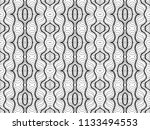 vector black white seamless... | Shutterstock .eps vector #1133494553