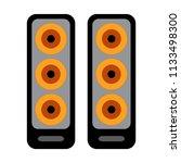 music sound icon   bass... | Shutterstock .eps vector #1133498300