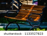single old fashioned cast iron... | Shutterstock . vector #1133527823