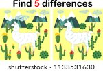 find the differences between... | Shutterstock .eps vector #1133531630