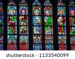 paris  france may 24 2018 ... | Shutterstock . vector #1133540099