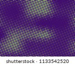 green purple halftone... | Shutterstock .eps vector #1133542520