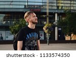 helsinki  finland  august 2017  ... | Shutterstock . vector #1133574350