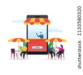 cafe and restaurant  coffee... | Shutterstock .eps vector #1133580320