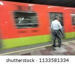 september 4  2017   mexico city ...   Shutterstock . vector #1133581334