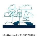natural landscape forest trees... | Shutterstock .eps vector #1133622026