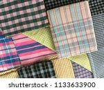 traditional fabrics local hand...   Shutterstock . vector #1133633900