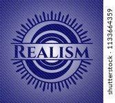 realism denim background | Shutterstock .eps vector #1133664359