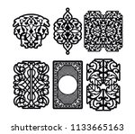 Laser Cut Vector Panel For...