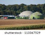 biogas plant. | Shutterstock . vector #113367529