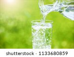 image of water | Shutterstock . vector #1133680859