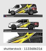 truck  van  and other vehicle... | Shutterstock .eps vector #1133686316