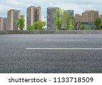 high rise city center  clean... | Shutterstock . vector #1133718509