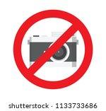 vector illustration sign of no... | Shutterstock .eps vector #1133733686