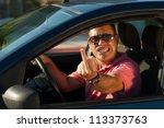 road rage | Shutterstock . vector #113373763