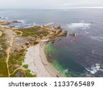 Aerial View Of Pacific Grove...