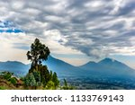 rwanda  volcanoes national park ... | Shutterstock . vector #1133769143