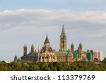 ottawa parliament building | Shutterstock . vector #113379769