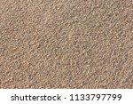coarse sand background texture | Shutterstock . vector #1133797799