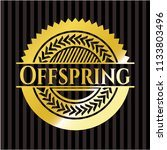 offspring gold badge   Shutterstock .eps vector #1133803496